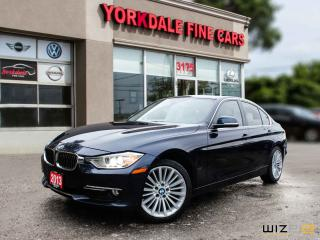 Used 2013 BMW 328i xDrive Classic Line Navigation. Lane assist. Blue On Brown for sale in Toronto, ON