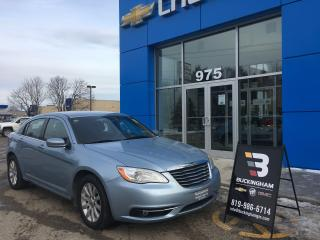 Used 2012 Chrysler 200 Touring Carproof for sale in Gatineau, QC
