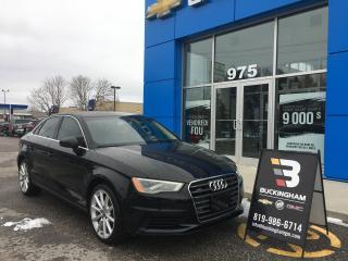 Used 2016 Audi A3 2.0T quattro for sale in Gatineau, QC