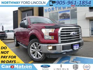 Used 2016 Ford F-150 XLT | REAR CAMERA | 5.0LV8 | SUPERCAB | for sale in Brantford, ON