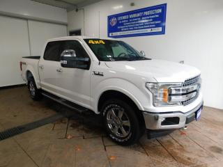 Used 2018 Ford F-150 LARIAT CREW LEATHER NAVI SUNROOF for sale in Listowel, ON