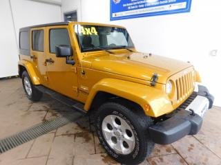 Used 2014 Jeep Wrangler Unlimited Sahara *Manual* for sale in Listowel, ON