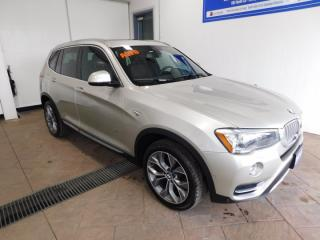 Used 2015 BMW X3 xDrive35i LEATHER NAVI SUNROOF for sale in Listowel, ON