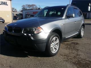 Used 2005 BMW X3 3.0I for sale in Hamilton, ON