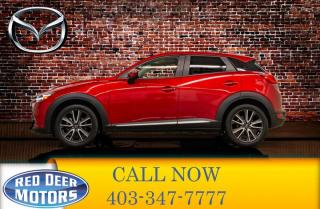 Used 2016 Mazda CX-3 AWD GT Leather Roof Nav for sale in Red Deer, AB