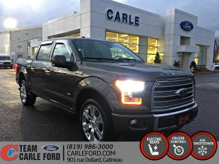 Used 2016 Ford F-150 Ford F-150 Limited 2016, GPS, CUIR, TOIT for sale in Gatineau, QC