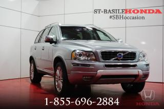 Used 2014 Volvo XC90 PREMIER PLUS + CLIMATE PACK + WOW !! for sale in St-Basile-le-Grand, QC