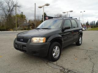 Used 2003 Ford Escape XLS Duratec for sale in King City, ON