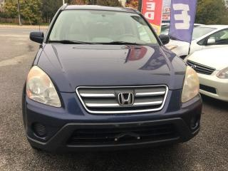 Used 2006 Honda CR-V EX-L for sale in Scarborough, ON
