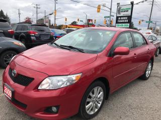 Used 2009 Toyota Corolla LE l No Accidents l Push Start l Alloys for sale in Waterloo, ON