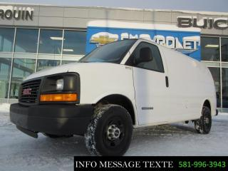 Used 2006 GMC Savana cargo for sale in Ste-Marie, QC