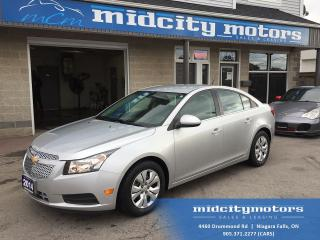 Used 2014 Chevrolet Cruze LT/ Low KMs/ HUGE savings on gas! No Accidents! for sale in Niagara Falls, ON