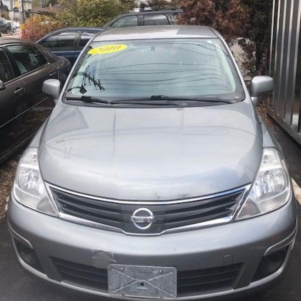 Photo of Gray 2010 Nissan Versa