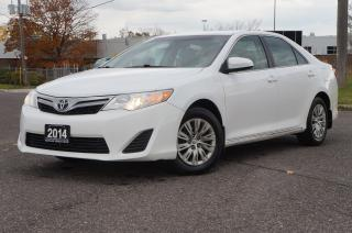 Used 2014 Toyota Camry LE BackUp Camera *Low KM* No Accident. for sale in North York, ON