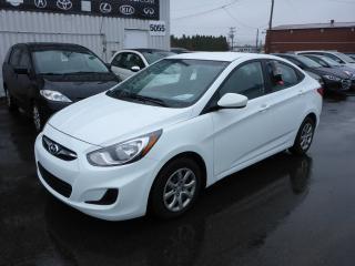 Used 2014 Hyundai Accent Gl Gar. for sale in Shawinigan, QC