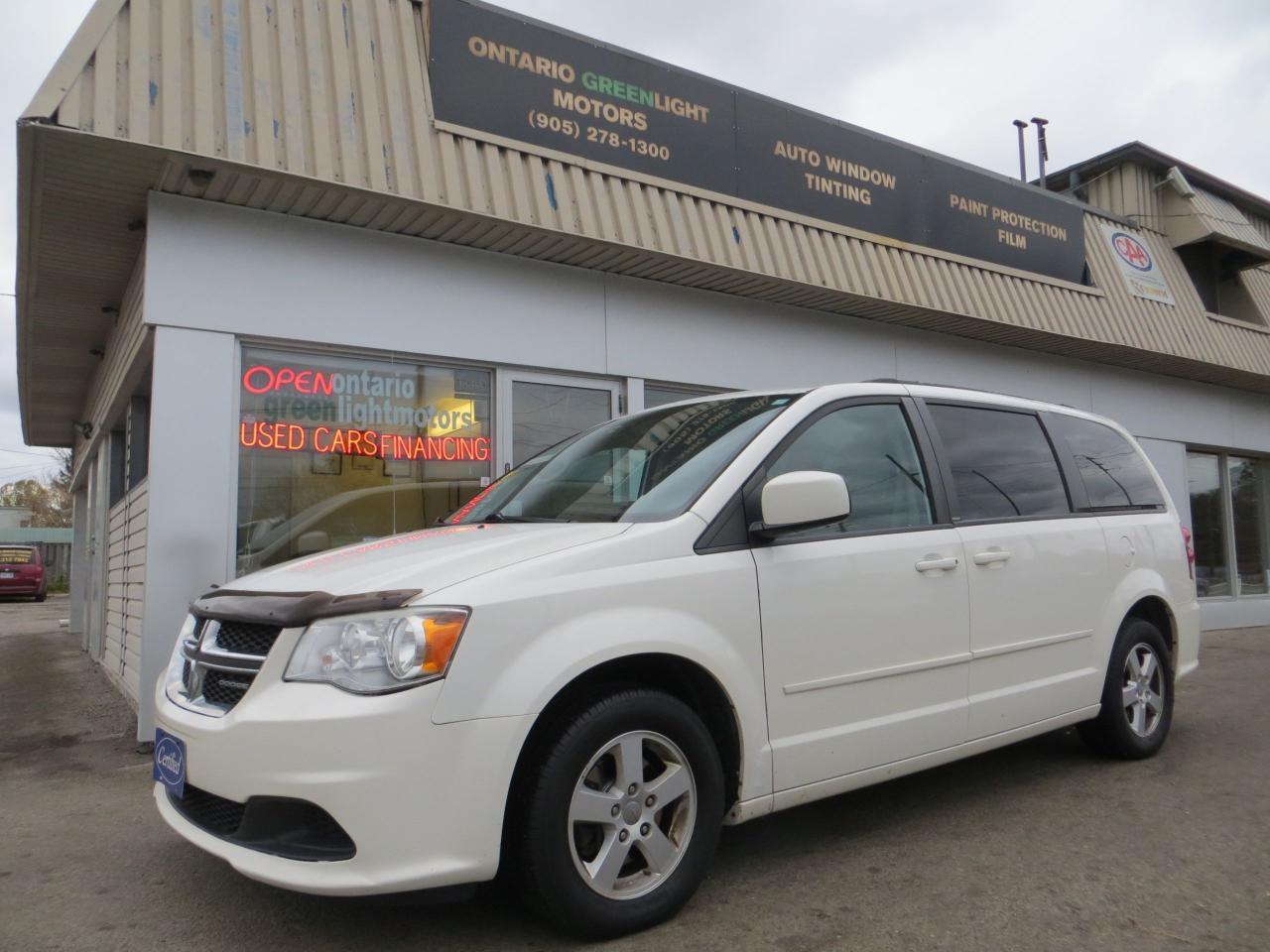 Used 2012 Dodge Grand Caravan Sxt Power Doors And Trunk Power Seats