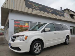 Used 2012 Dodge Grand Caravan SXT,POWER DOORS AND TRUNK,POWER SEATS,FULL STOW&GO for sale in Mississauga, ON
