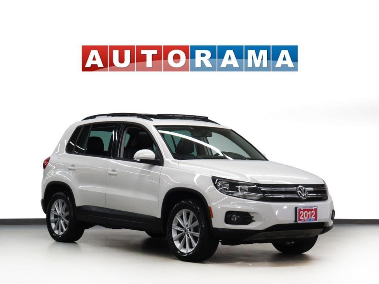 2012 Volkswagen Tiguan 2.0 TSI LEATHER SUNROOF AWD