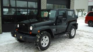 Used 2011 Jeep Wrangler Sport,4x4 for sale in Sherbrooke, QC