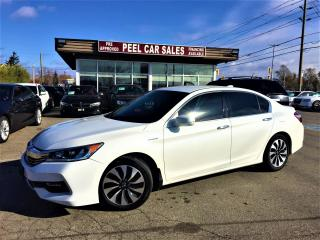 Used 2017 Honda Accord HYBRID|PWRSEATS|REARVIEW| for sale in Mississauga, ON