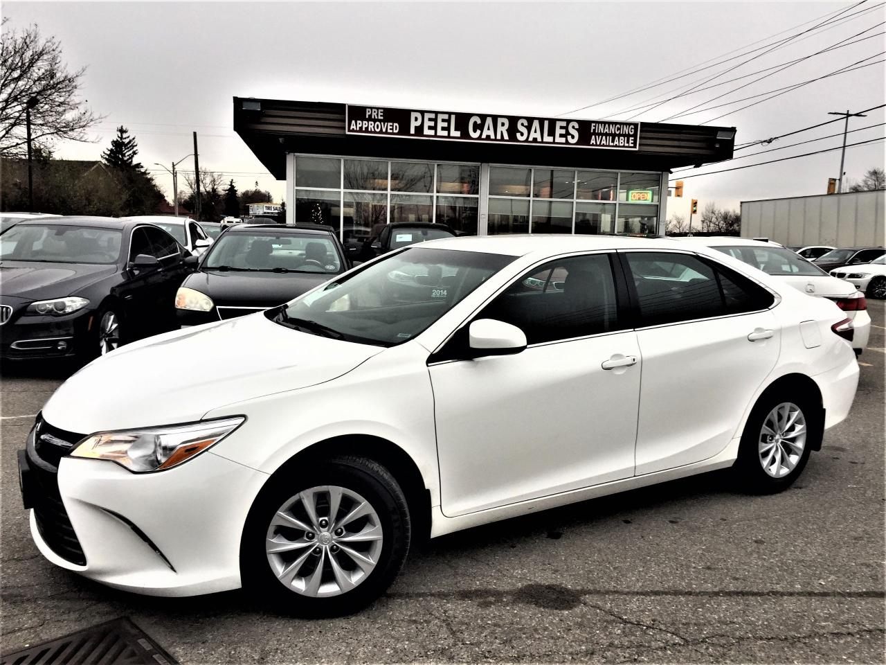 Used 2017 Toyota Camry Le Rearview Alloys Accident Free For Sale In