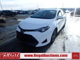 Used 2018 Toyota Corolla LE 4D Sedan for sale in Calgary, AB