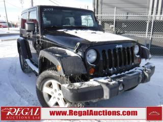 Used 2007 Jeep Wrangler X 2D Utility 4WD for sale in Calgary, AB