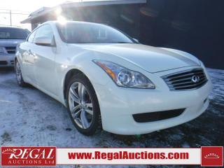 Used 2008 Infiniti G37 Sport 2D Coupe for sale in Calgary, AB