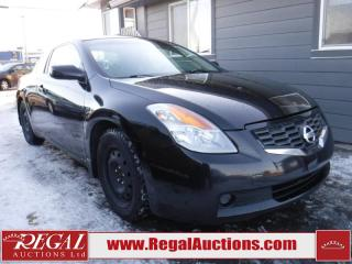 Used 2008 Nissan Altima S 2D Coupe for sale in Calgary, AB