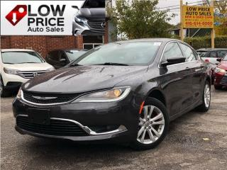 Used 2015 Chrysler 200 Limited*AllPowerOpti*HtdSeats*Camera*FullOpti* for sale in Toronto, ON