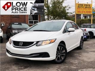 Used 2015 Honda Civic EX*Sunroof*Alloys*Bluetooth*Camera*FullOpti* for sale in Toronto, ON
