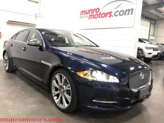 Used 2015 Jaguar XJ XJL 3.0L AWD LWB Portfolio DVD NAV PANO for sale in St. George Brant, ON