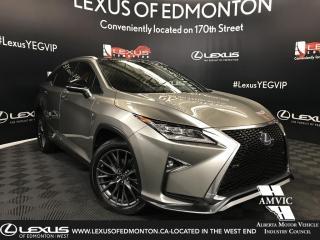 Used 2017 Lexus RX 450h F SPORT SERIES 3 for sale in Edmonton, AB