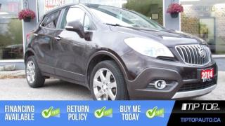 Used 2014 Buick Encore Premium ** Nav, Leather, Blindspot Sensors, Lane A for sale in Bowmanville, ON