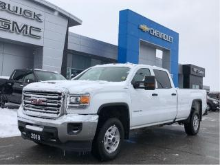 Used 2018 GMC Sierra 2500 HD 4WD Crew CAB 153. for sale in Barrie, ON