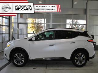 Used 2016 Nissan Murano SV  -  Navigation - $188.39 B/W for sale in Mississauga, ON
