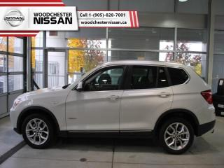 Used 2013 BMW X3 xDrive28i  -  panoramic roof - $137.34 B/W for sale in Mississauga, ON