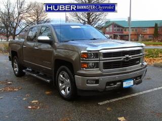 Used 2014 Chevrolet Silverado 1500 4X4/ Leather/ Heated-Cooled Leather for sale in Penticton, BC