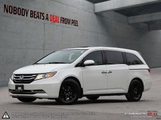 Used 2015 Honda Odyssey EX-L 8 Pass*Dark ED*DVD*Leather*Clean for sale in Mississauga, ON