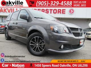Used 2017 Dodge Grand Caravan GT | HEATED LEATHER | STOW N' GO | 7 PASSENGER for sale in Oakville, ON