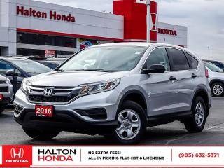 Used 2016 Honda CR-V LX AWD|NO ACCIDENTS for sale in Burlington, ON