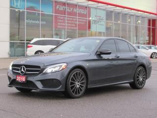 Used 2016 Mercedes-Benz C-Class LUXURIOUS AND STUNNING! for sale in Brampton, ON