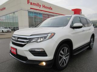 Used 2016 Honda Pilot Touring, FULLY LOADED! for sale in Brampton, ON