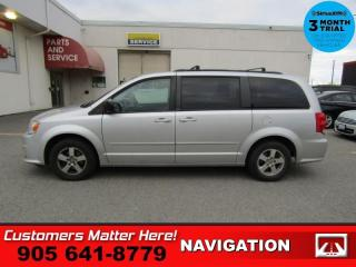 Used 2012 Dodge Grand Caravan SXT Plus   NAV CAM DVD REAR-PW 8W-P/SEAT STOW'N'GO REAR-HEAT/AC for sale in St. Catharines, ON