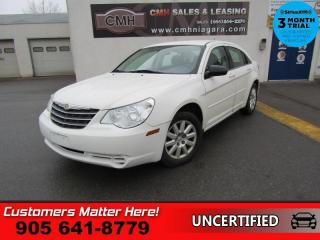 Used 2008 Chrysler Sebring LX  AS IS (UNCERTIFIED) AS TRADED IN for sale in St. Catharines, ON