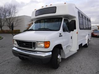 Used 2006 Ford E450 13 Passenger Bus with Wheelchair Accessibility for sale in Burnaby, BC