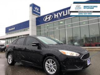 Used 2017 Ford Focus SE  - Bluetooth -  Cruise Control - $110.72 B/W for sale in Brantford, ON