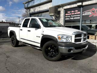 Used 2008 Dodge Ram 1500 Cabine quad 4RM, 140,5 po for sale in Longueuil, QC