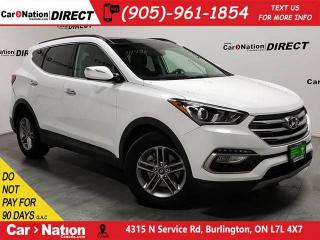 Used 2018 Hyundai Santa Fe Sport 2.4 SE| AWD| LEATHER| PANO ROOF| for sale in Burlington, ON