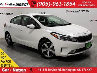 Used 2018 Kia Forte LX+| BACK UP CAMERA| HEATED SEATS| for sale in Burlington, ON